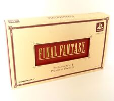 Sony Playstation PS1 Final Fantasy I.II Premium Package Monochrome Version JP