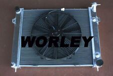 Aluminum radiator + fan  for Jeep Grand Cherokee 5.2L 5.9L V8 1993-1998