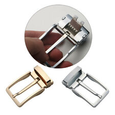 Rectangular Pin Buckle for Men Alloy Reversible Belt Buckles Single Prong