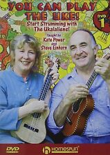 You Can Play the Uke, Taught By Kate Power & Steve Einhorn 2-Disc DVD Version
