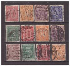 Deutsches Reich Sammlung Dienstmarken aus Mi.16-33 gestempelt 2