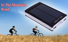 SUPER CARGADOR SOLAR MOVILES DUAL MICRO USB iPAD iPHONE SAMSUNG BATERÍA 13000MAH