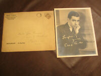 1920s 30s ERA ORIGINAL HOLLYWOOD EDDIE CANTOR PUBLICITY PHOTO w/ ENVELOPE