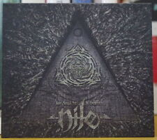 NILE WHAT SHOULD NOT BE UNEARTHED SLIPCASE CD NUCLEAR BLAST RECORDS 2015