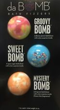 da Bomb Bath Fizzers 3 Piece Set (Groovy Bomb, Sweet Bomb , Mystery Bombs) New!