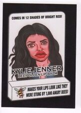 2017 Wacky Packages 50th Anniversary red ludlow back Kylie Jenner lip balm 17/25