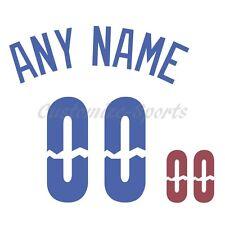 Rancho Cucamonga Quake de Béisbol Blanca Jersey número Personalizado Kit sin costura