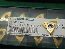 Tool Flo TNMA 43 5.0TR LH GP50 Carbide Threading Insert