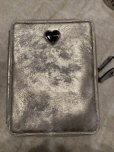 Betsey Johnson Tie Me Up E Reader Zip Around Tablet Case Pewter