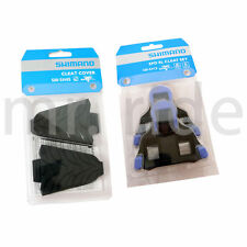mr-ride Shimano Cleat Cover SM-SH45 + Cleat Set SM-SH12 Blue