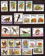 Kampuchea: o Iseaux, Flowers, Papillonq, Reptiles 323T5