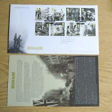 Britain Alone 13.5.2010 GB FDC Special Postmark + insert Mint