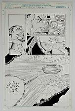 Original Comic Art-Stormwatch #28-Page 12-Ron Lim Pencils, Robert Jones Inks-COA