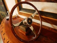 "Jaguar XJ6 1968 - 1974 Wood Steering Wheel Rivets Nardi 15"" NOS New"