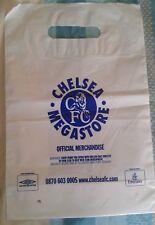 CHELSEA FOOTBALL CLUB FC MEGASTORE OFFICIAL CARRIER BAG