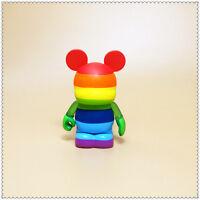 "Disney Theme Park Favorites Series Vinylmation  Rainbow ACTION FIGURE 3"" LOOSE"