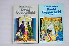 Bücherpaket 2x Charles Dickens David Copperfield Band 1+2