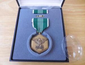 United States Military Merit Medal Set in Case - Unused