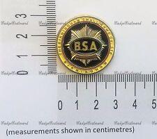 BSA Motorcycles Round Lapel Pin Badge