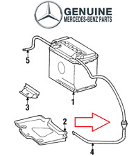 For Mercedes W124 300CE 300E E320 Positive Battery Cable Genuine 1245404230