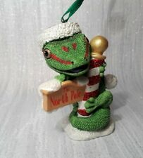 Danbury mint christmas ornament Danbury Mint baby animals gecko north pole gecko
