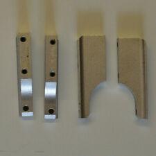 RC NITRO ENGINE MOUNTS 2 x pairs alluminium 55 x 7.5 x 18.5mm