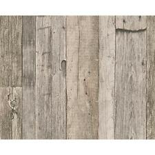 NEW AS CREATION WOOD BEAM PATTERN FAUX EFFECT TEXTURED NON WOVEN MURAL WALLPAPER
