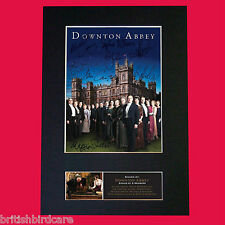 DOWNTON ABBEY Signed Reproduction Autograph Mounted Photo Print A4 515