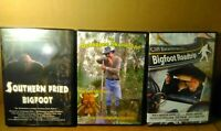 Bigfoot DVD Collection 3 DVDs Set Sasquatch Hunting Paranormal Hunters
