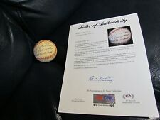 Ted Williams Autographed Baseball PSA Certified