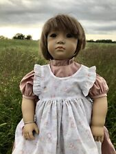 Signed by Annette Himstedt, Vintage 1991 Doll Neblina 27� - Rare, Collectable