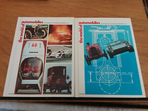 The World of Automobiles: Illustrated Encyclopedia of the Motor Car Vol 1 & 2
