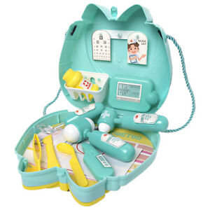 Doctor Toy Children Pretend Role Play Game Carry Case Bag 16 PCS Tools Fashion