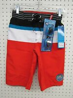 Boy's Size Small (8) R-way Board Shorts Swim Trunks - FREE GOGGLES