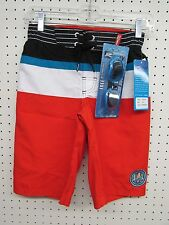 Boy's Size Small (8) R-way Board Shorts Swim Trunks - FREE GOGGLES