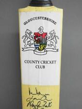 More details for signed vintage cricket bat- gloucestershire ccc 1999 squad inc mark alleyne
