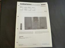 Original Service Manual Grundig m 26