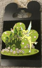 New Dlr Tinker Bell Castle Topiary Collection Surprise Release Limited Ed Pin