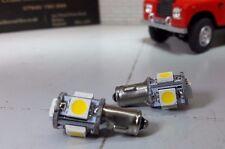 LED POSITIVE Earth 12V BA7s Armaturenbrett Glühbirnen Hell Xenon Weiss Lampen