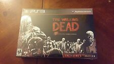The Walking Dead  Collector's Edition (Sony PlayStation 3, 2012) ***RARE***