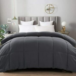 Abakan All Season Queen Soft Comforter Down Alternative Quilted Hotel Collection