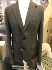 Gents Size 36r Dkny Casual Jacket / Wool Blend Grey New