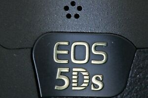 Canon EOS 5DS 50.6 MP SLR-Digitalkamera - Schwarz,