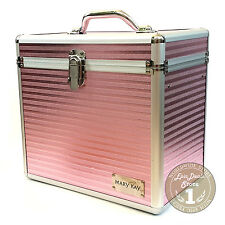 Mary Kay Aluminum Pink Cosmetic Organizer Big, Limited Edition, New!