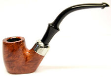Peterson System Briar Pipe Smooth Finish Large Bent Flat Bottomed (306)