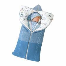 R-ejet Newborn Baby Swaddle Blanket Knit Receiving Blankets Stroller Wrap for Ba