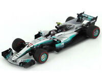 SPARK MODEL S5031 MERCEDES F1 W08 V.BOTTAS 2017 N.77 WINNER RUSSIAN GP 1:43