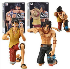 FIGURE ONE PIECE PORTGAS D ACE RUFY LUFFY DRAMATIC SHOWCASE 5th SEASON BANPRESTO