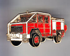 RARE PINS PIN'S .. POMPIER FIRE CAMION TRUCK  4X4  HANEMAG MERCEDES BENZ ~CO