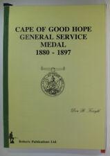 #^W6,, Don R Forsyth CAPE OF GOOD HOPE GENERAL SERVICE MEDAL 1880-1897, SC AC